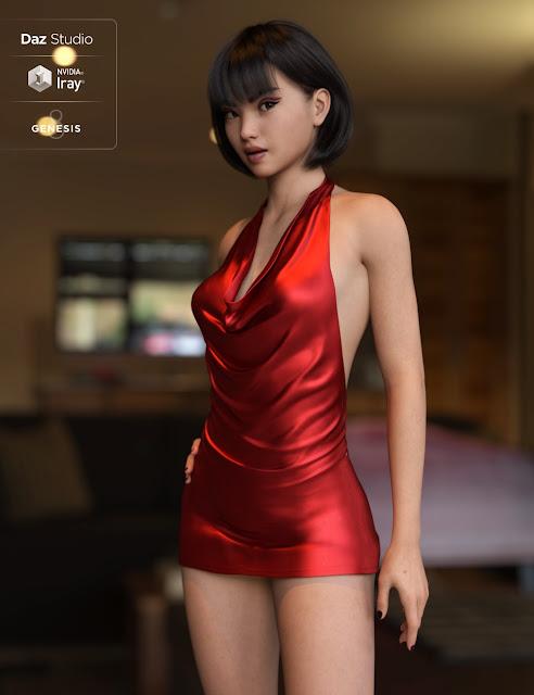 Shuang HD For Genesis 8 Female