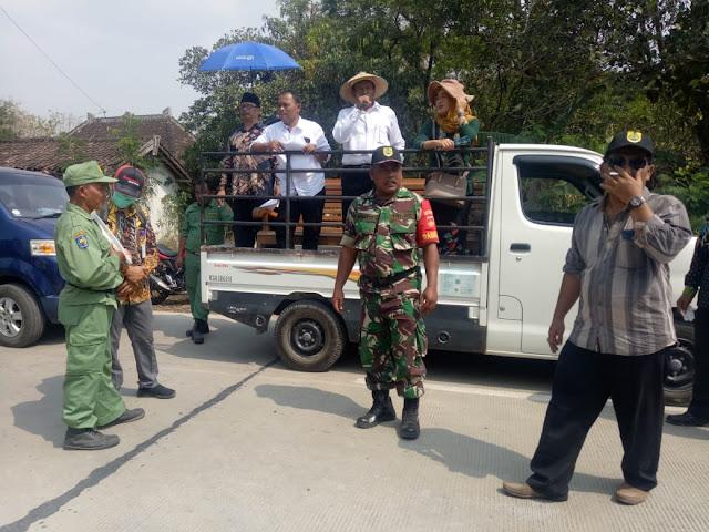 Babinsa Pelemgadung Pam Kampanye Pilkades