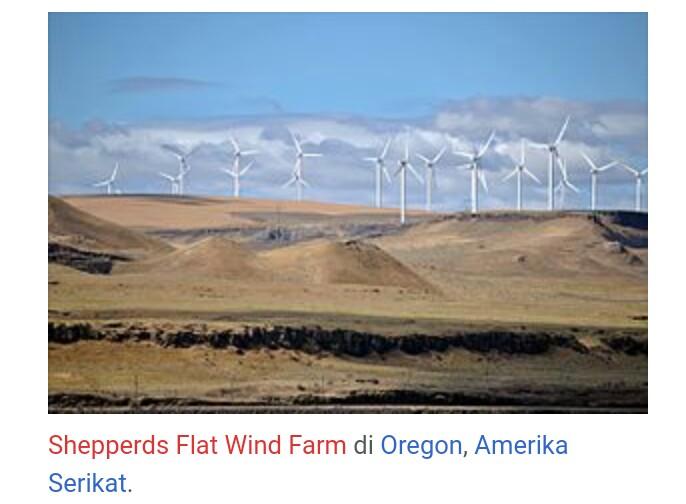 Pemanfaatan Energi Angin Sebagai Sumber Energi Alternatif Cinta