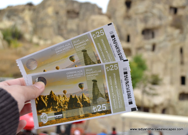 Goreme Open Air Museum tickets