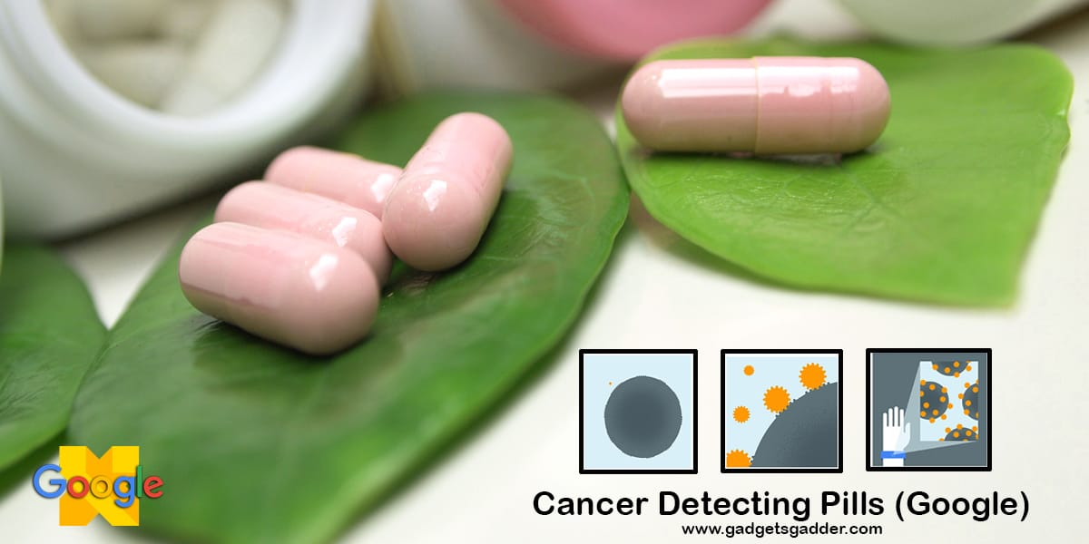 Cancer detecting pills - future inventions