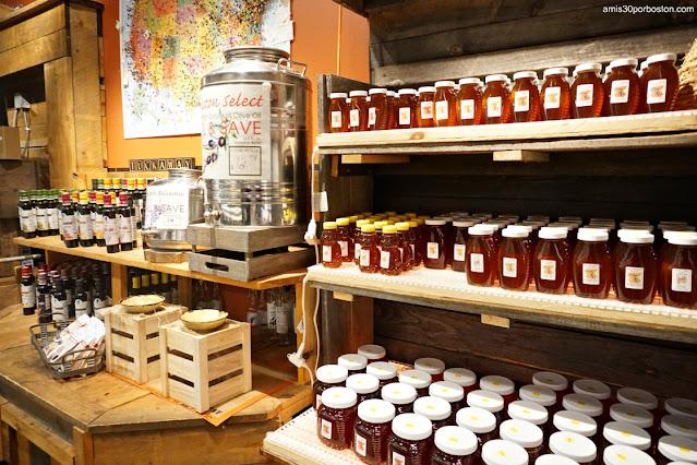 Productos Locales en la Carnicería Tuckaway en New Hampshire