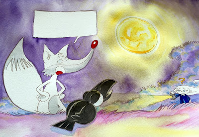 Touffue & Touflamme... Editions P'tit Louis... Soir de pleine Lune... ©Guillaume Néel