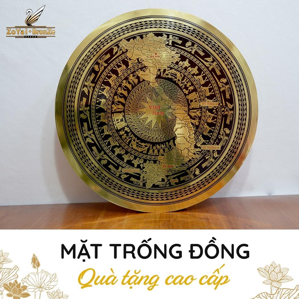 [A117] Mặt trống đồng Ngọc Lũ: Quà tặng đối tác nước ngoài ý nghĩa