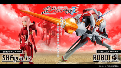 "The Robot Spirits STRELITZIA de ""DARLING in the FRANXX"" - Tamashii Nations"