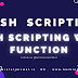 Bash Scripting with Create a Function