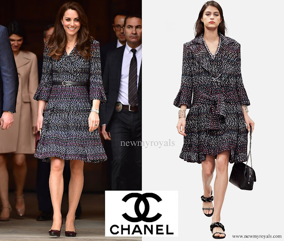 Chanel dress from RTW Spring/Summer 2017 Pre-Collection