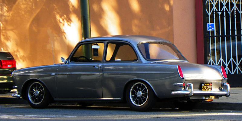 california streets san francisco street sighting  volkswagen type   notchback