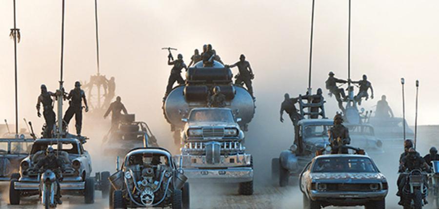 Urmarire în Mad Max: Fury Road