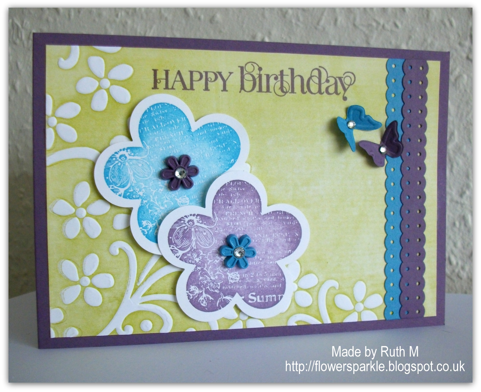 Inside The Card Are Two More Flowers And A Sentiment Envelope Flap Has Another Flower Hope Youll Get Inky Join In With Our Perfect Pairs