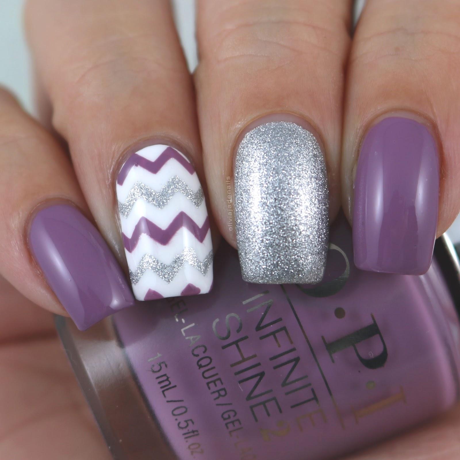 Olivia Jade Nails: 31DC2017: Violet Nails
