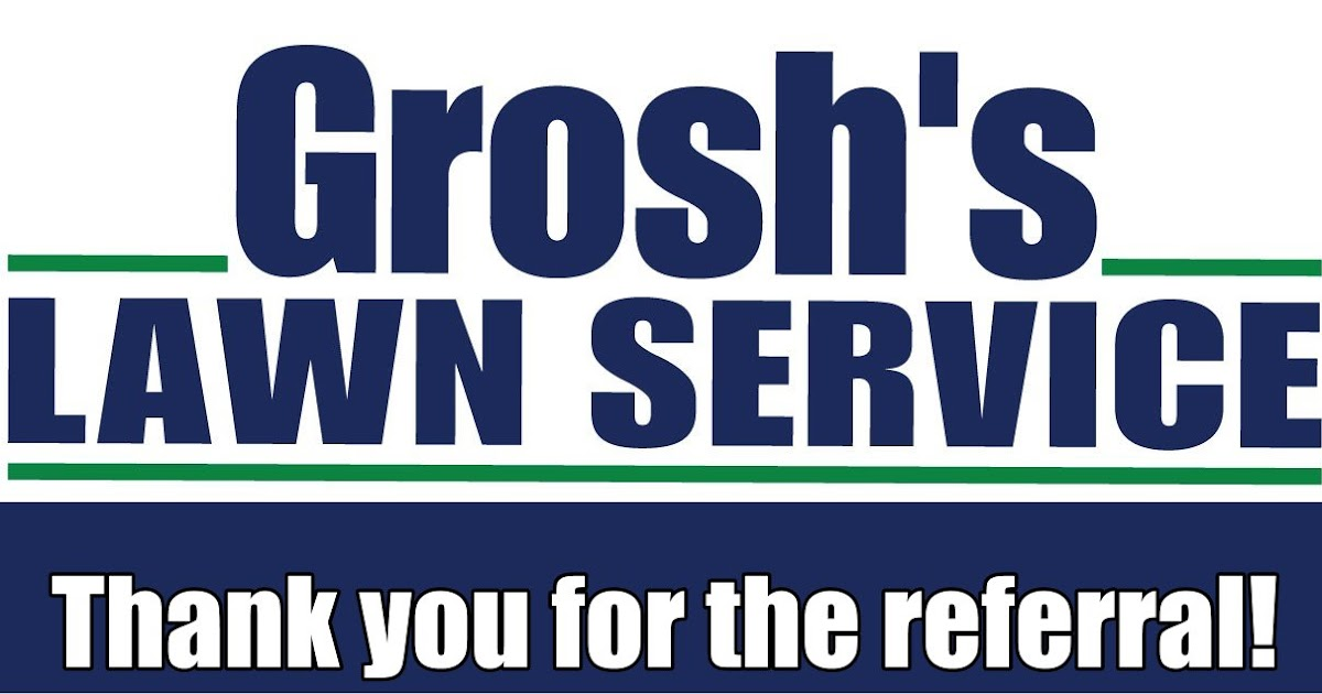 Groshs Lawn Service Landscape Project Referral Hagerstown Md Washington County Md Williamsport Md