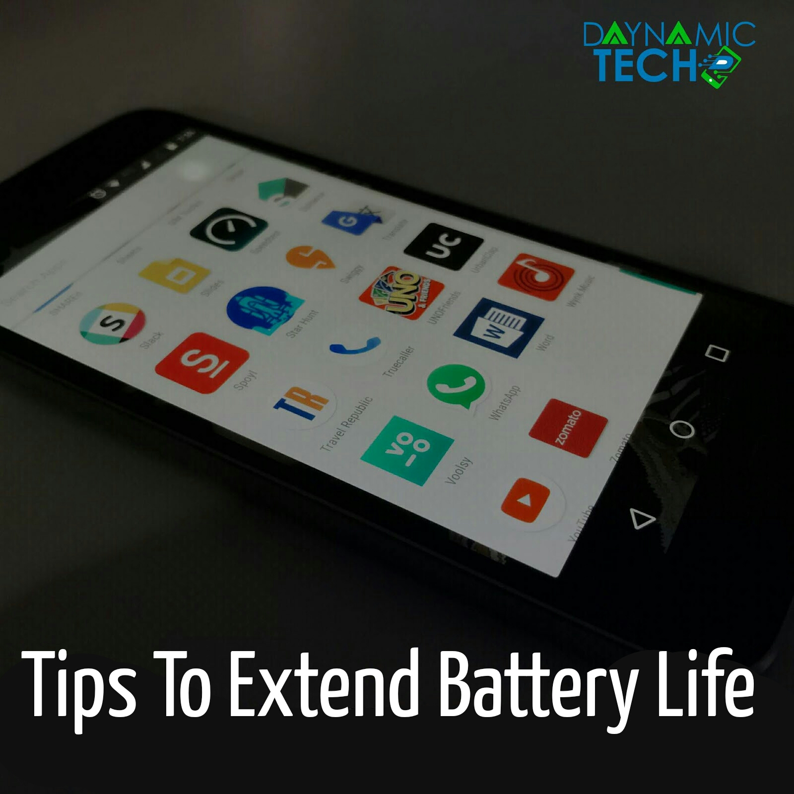 Few Tips To Extend Smartphone Battery Life