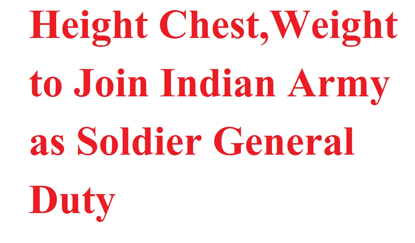 Samaj aya kya how to apply online application help height height indian armychest for armyminimum height for indian army nvjuhfo Images