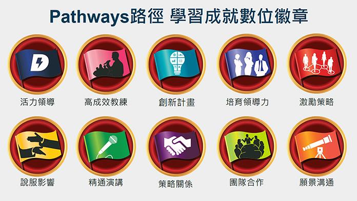 Pathways新制完成(路徑)的數位徽章