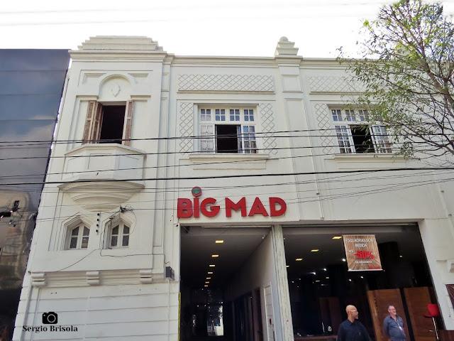 Vista da fachada de Casarão restaurado da Rua do Gasômetro 3 - Brás - São Paulo