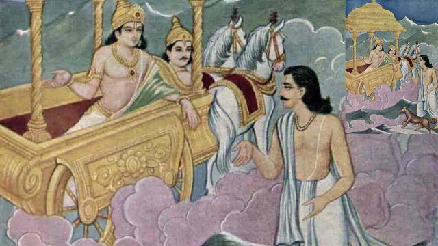 Yudhishthira in Hindi : यक्ष और युधिष्ठिर संवाद