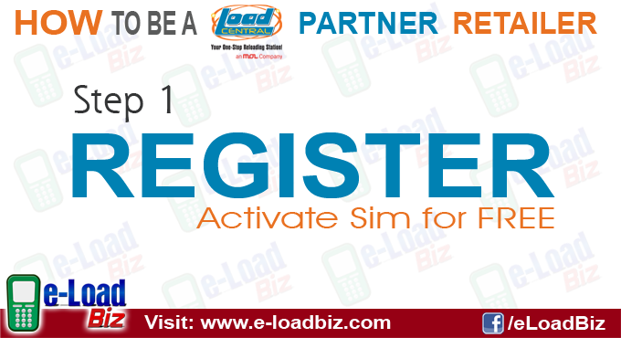 Register as a Loadcentral Retailer