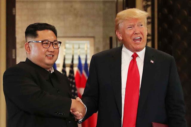 Kim Jong-un tentou enganar Trump, o qual disse ter caído 'enamorado'