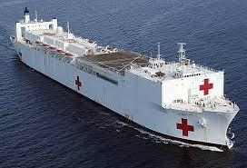 Jenis Kapal Menurut Bahan dan Alat Penggeraknya, kapal rumah sakit