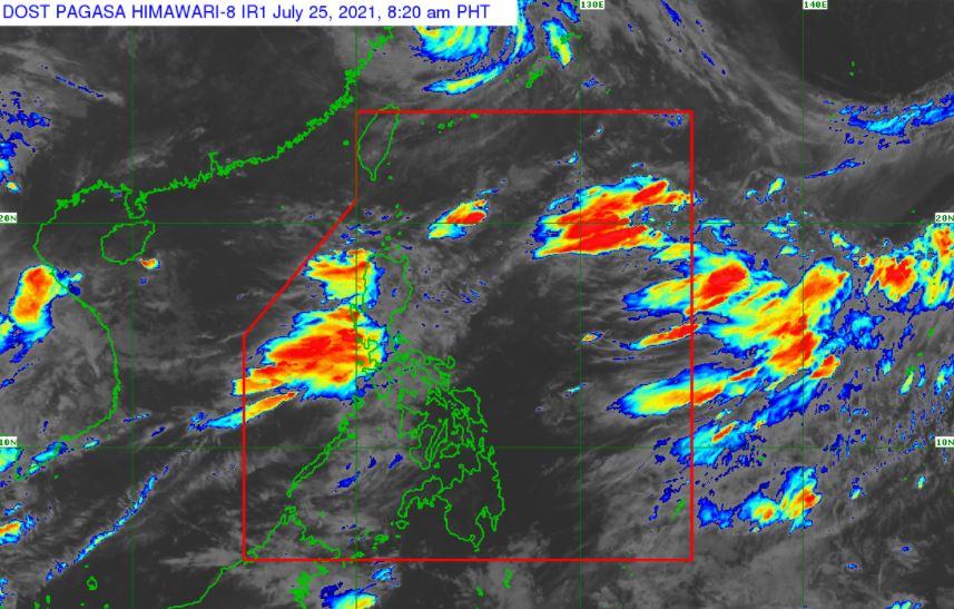 Satellite image of Southwest Monsoon