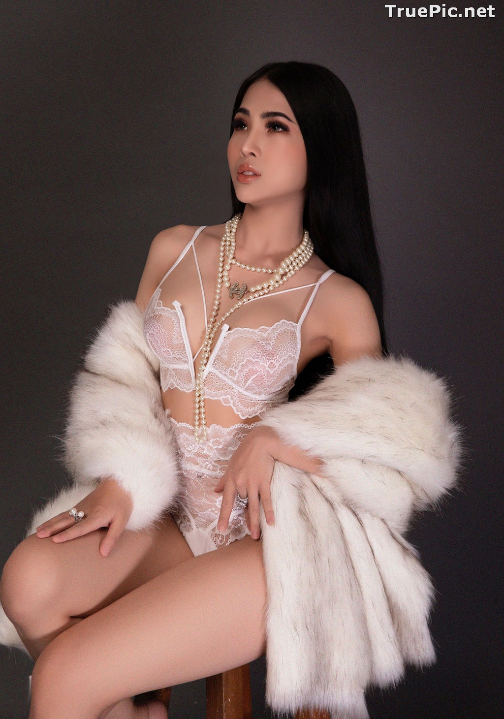 Image Vietnamese Model - Hot Beautiful Girls In White Collection - TruePic.net - Picture-2
