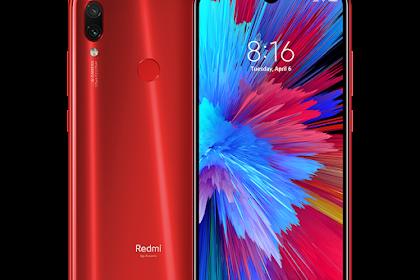 Redmi Note 7, Spesifikasi dan Price