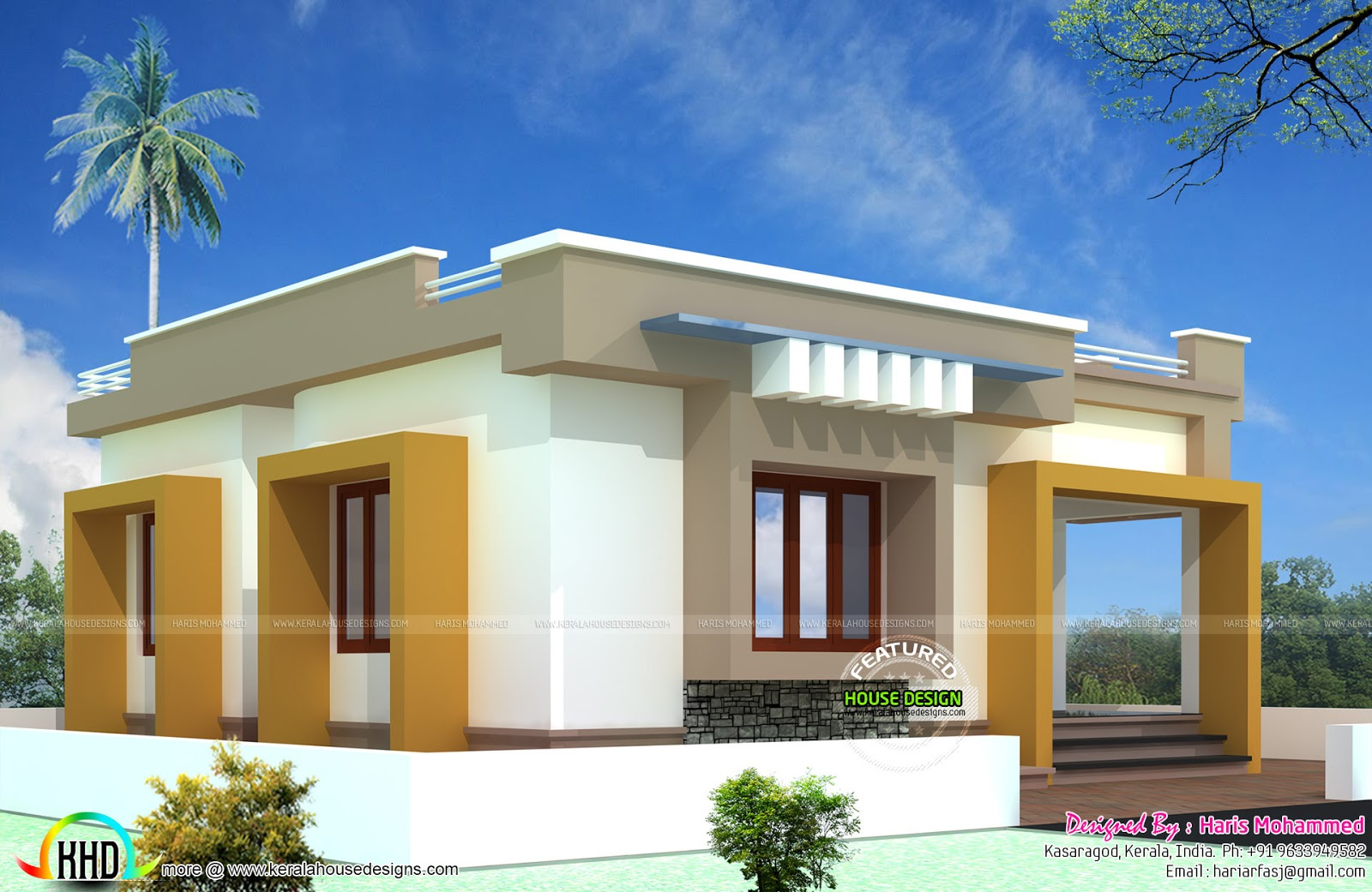 ₹10 lakhs bud house plan Kerala home design and floor plans