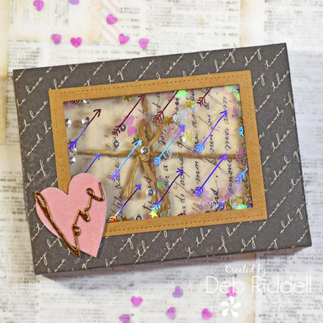 Love Letters Shaker Box