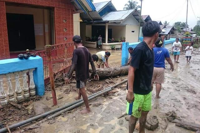 Ini Foto-Foto Bencana Banjir Bandang Sigi Sulteng
