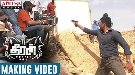 Theeran Adhigaaram Ondru Movie Making Video    Karthi, Rakul Preet    H.Vinoth    Ghibran