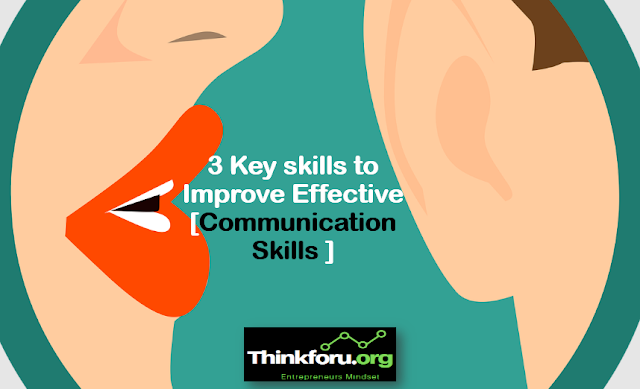 Cover Image of Communication Skills : 3 Key skills to Improve Effective [ Communication Skills ]