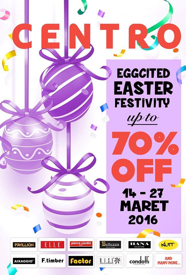 Promo Centro Department Store Terbaru Periode 14 – 27 Maret 2016