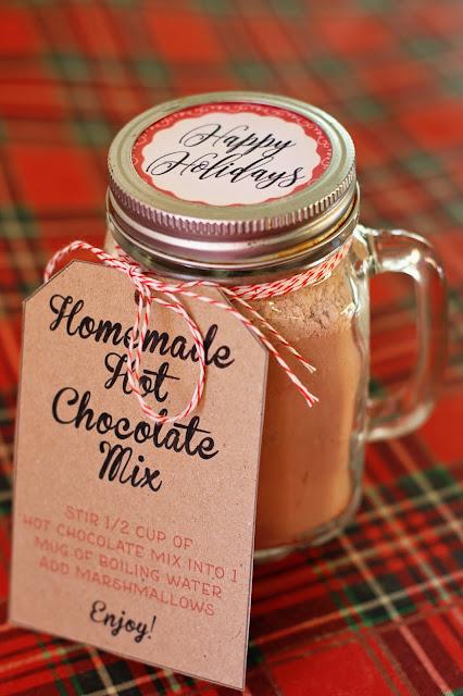 Homemade Hot Chocolate Free Printable Direction Tags