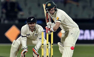 New Zealand vs Australia at the Oval ground in Adelaide