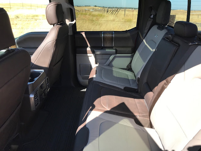 Interior view of 2019 Ford F-150 4X4 SuperCrew Limited