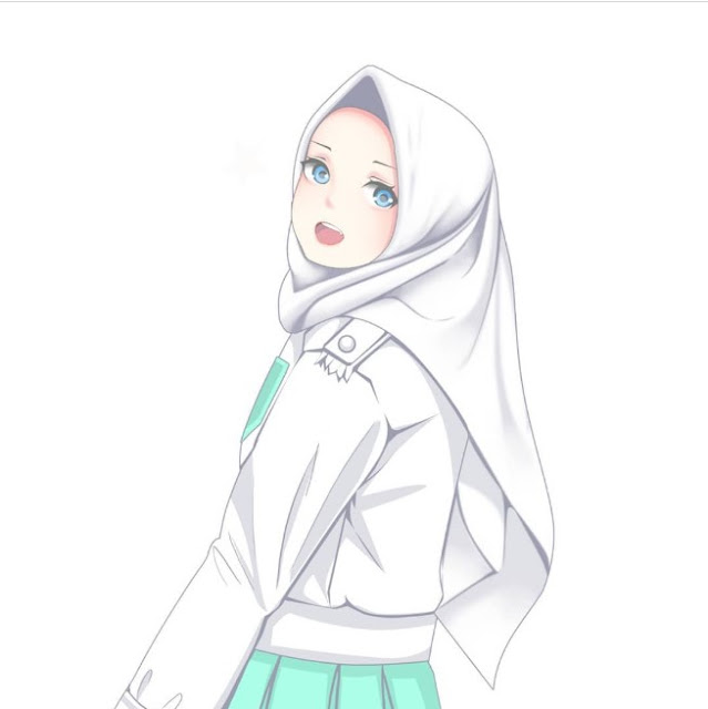 Gambar kartun muslimah dewasa terbaru