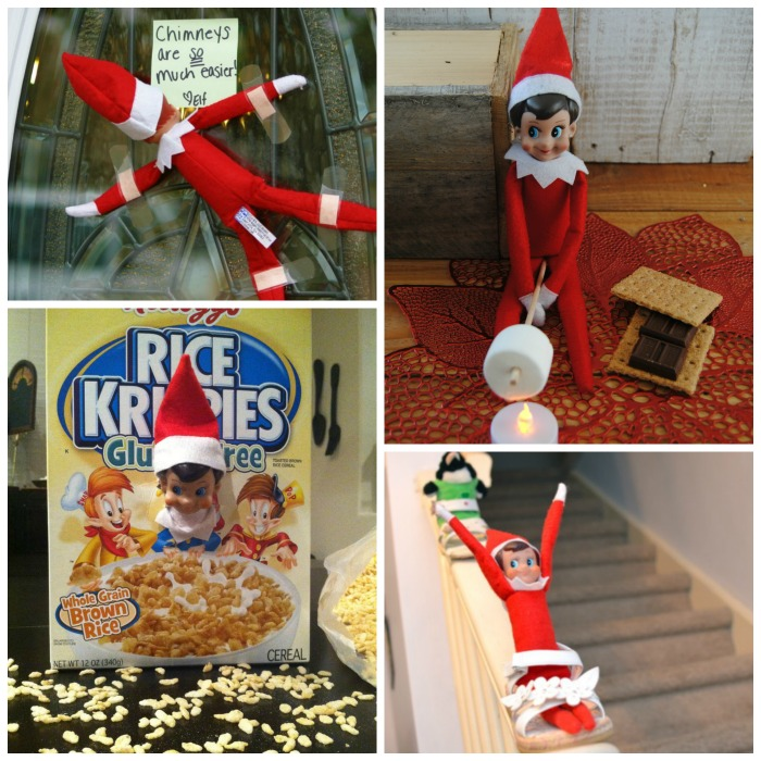 100+ GENIUS ELF-ON-THE-SHELF IDEAS FOR KIDS- so many ideas I'd never seen!