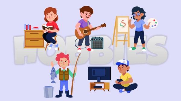 Hobby ~ Junior High School Students Grade VII