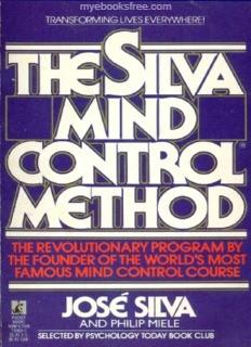 The Silva Mind Control Method Pdf free download