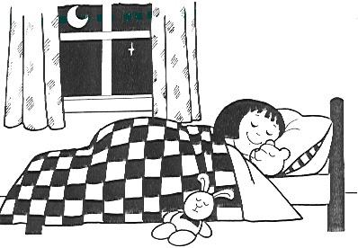 32 Gambar Kartun Anak Yang Sedang Tidur Kumpulan Kartun Hd