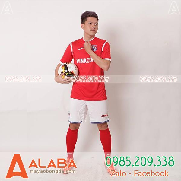 Áo CLB Than Quảng Ninh xịn màu đỏ
