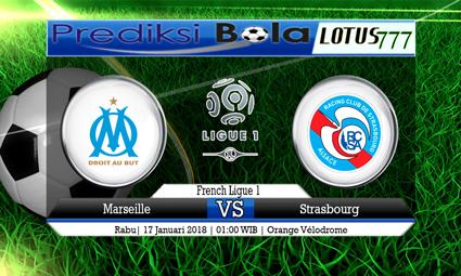 PREDIKSI SKOR Marseille vs Strasbourg 17 Januari 2018