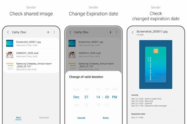 Samsung Private Share ، تطبيق لمشاركة الملفات بشكل خاص وآمن