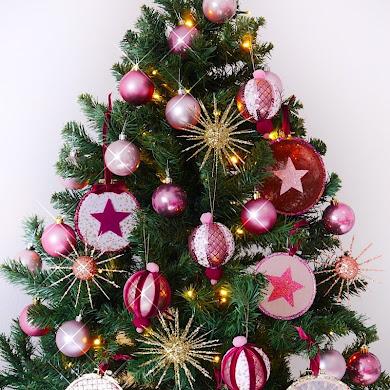 Trois Ornements DIY Faciles Pour Le Sapin de Noël