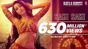 o saki Saki Lyrics in Hindi with meaning