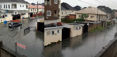 Lekki flooding lagos Nigeria