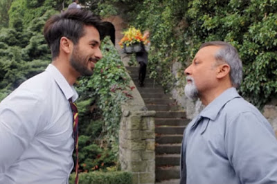 Pankaj and Shahid Kapoor in Shaandaar, Directed by Vikas Bahl