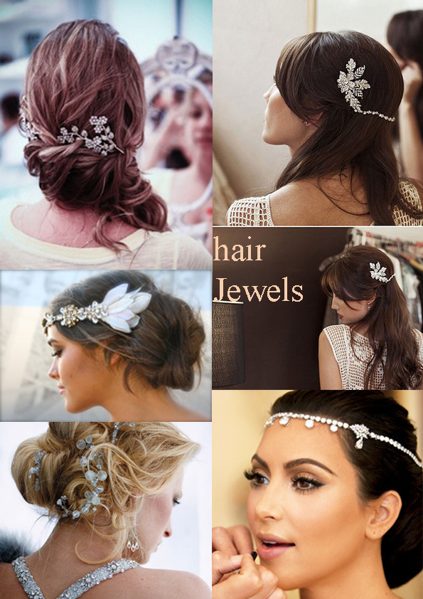 natasha wedding essentials: Hair Jewels for your Wedding Day