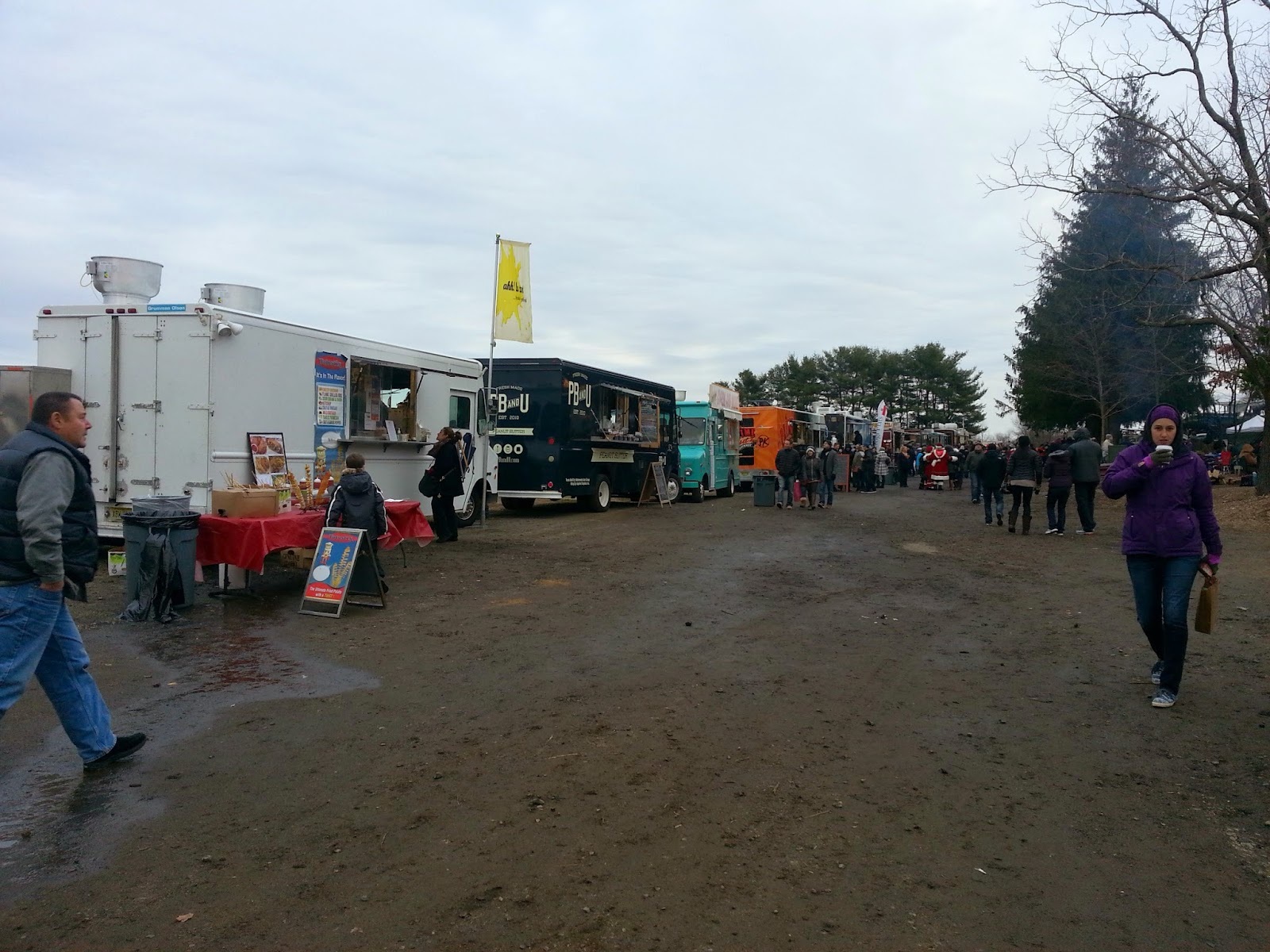 Food Trucks and Fire Pits